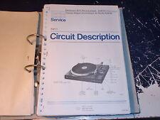 Philips ServiceManual Plattenspieler 22GF251 uvm. 1Stück aussuchen/choose 1piece