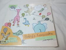 New Parragon Books Baby's First Year Keepsake Memory Record Book and Box NEW