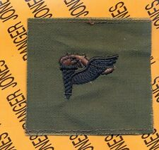 US Army Pathfinder Torch Airborne OD Green & Black badge cloth patch
