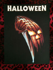 "Halloween Back Patch! 11"" X 14.5"" Horror Punk Rockabilly Psychobilly Metal Goth"