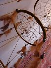 Stunning Dream Catcher 3 Tiered Mobile With Feathers 80 cm Drop 22 cm Main Web