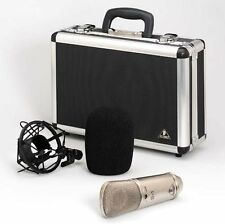 Behringer B-1 Single Diaphragm Studio Condenser Microphone Mic w/Case,Shockmount