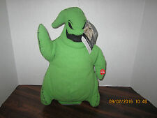 NEW Dancing Musical Oogie Boogie Plush Nightmare Before Christmas Halloween Tags