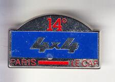 RARE PINS PIN'S .. AUTO CAR RALLYE 4X4 RAID PARIS LE CAP AFRICA 14 EME ~BN