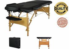 Portable Massage Table w Free Carry Case Chair Bed Spa Facial Tattoo 84 L X 32 W