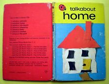 Talkabout Home vintage Ladybird book kids early learning toddlers children 1973
