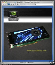 nVidia Geforce 8800 GT 512mb Graphics Video Card *Apple Mac Pro 2008 *MacPro3,1