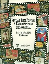 Vintage Film Posters & Entertainment Memorabilia 1992 Los Angeles Camden House