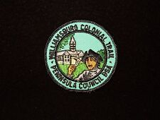 BOY SCOUT   WILLIAMSBURG COLONIAL TRAIL PP  PENNINSULA CNCL   VA