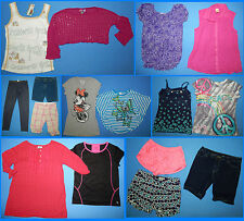 16 Piece Lot of Nice Clean Girls Size 14 Spring Summer Everyday Clothes ss274