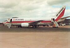 Air Europa Boeing 737-353 EC-ECA Probably at Exeter Airport Postcard