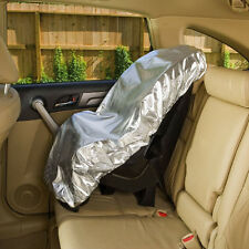 80x70cm Silver UV Protective Sun-proof Heat shield Baby Kids Car Safe Seat Cover
