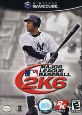 Major League Baseball 2K6 Nintendo Gamecube Complete