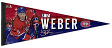 New SHEA WEBER Montreal Canadiens 2016-17 Premium Felt Collector's PENNANT