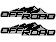 2004-2012 4x2 Decals Stickers for Chevy Colorado Xtreme GMC Canyon BLACKOUT