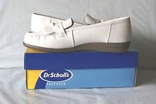 Dr. Scholls women's white double air -pillo insole shoes size 7 1/2M