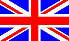 "British Union Jack Flag Decal 5"" x 3""  Vinyl Sticker High Gloss Extreme Outdoor"