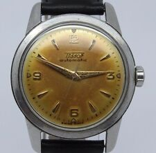 VINTAGE Tissot Automatic 34mm Steel Mens Watch cal.28.5R-21 = Great Toned Dial =