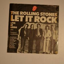 "ROLLING STONES - Let it rock - 1971 GERMANY 7"" SINGLE"