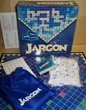 2003 Jargon Crossword Scrabble Game w/ Lingo Friendly Games Barnes & Noble