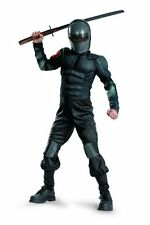 G.I.Joe Retaliation Snake Eyes Child Muscle Costume Disguise Boys S (6) NEW!