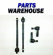 4 Piece Set Tie Rod Ends For Toyota Corolla Chevy Prizm 1 Year Warranty