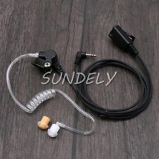 Security Covert Walkie Talkie Headset Earpiece MOTOROLA TLKR T60 T80 XTB446 1PIN