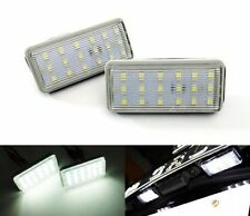 Canbus White LED License Plate Light Kit Direct Fit For Lexus GX470 LX470 LX570
