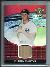 Mickey Mantle 2011 Topps Triple Threads Game Used Bat #12/36