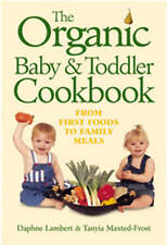The Organic Baby and Toddler Cookbook,GOOD Book