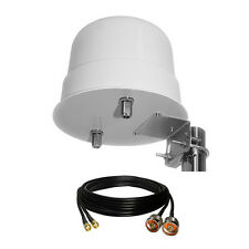 3G/4G/LTE Omni-Directional 12dBi 800-2600MHz Outdoor Antenna +15m SMA Male Cable