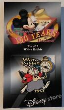 Disney Pin DS 100 Years of Dreams #22 White Rabbit 1951 New LE