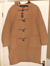NEW MENS VINTAGE ORIGINAL GLOVERALL CAMEL HOODED DUFFLE COAT UK SIZE 40 CHEST
