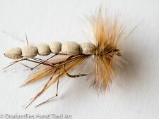 12 FOAM BODY DADDY LONG LEGS DRY FLY in size 10,12,14,16 by Dragonflies