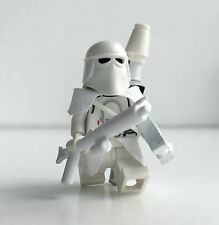 Lego Star Wars Custom snow Trooper + Top Custom equipment & Grenade Launcher