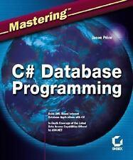 Mastering C# Database Programming Price, Jason