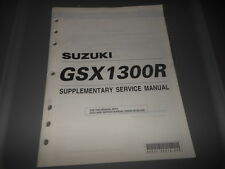 Factory OEM Suzuki 2001 GSX1300R Supplementary Service Manual 30pgs