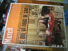 1µ? Revue Paris Match n°872 Special election / Bardot M.Laforet Z.Jeanmaire