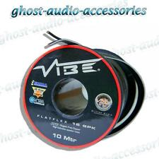 10M Vibe Flatflex 16AWG OFC Car Audio Speaker Wire Cable HIFI
