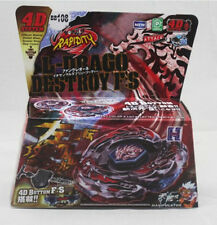 L-DRAGO DESTROY BEYBLADE 4D TOP METAL FUSION FIGHT MASTER NEW + LAUNCHER USA