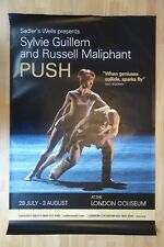 Sylvie guillem & russell Maliphant — push — sadler's wells print — officiel authentique