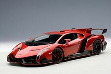 Lamborghini Veneno Red AUTOart 74508 1/18 New Diecast Car Model