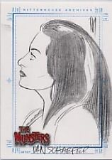 THE MUNSTERS DAN SCHAEFER LILY SKETCHAFEX  UNRELEASED