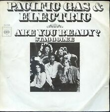 7inch PACIFIC GAS & ELECTRIC are you ready HOLLAND 1970 EX