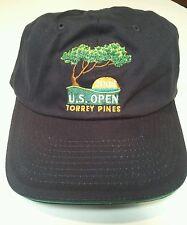 USGA Member 2008 US Open Torrey Pines Tiger Woods Win Blue Adjustable Hat
