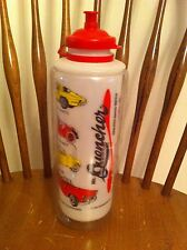 vintage 1989 Phoenixware Mr. Quencher Insulated Thermos Bottle Corvette Mercer
