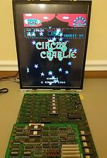 KONAMI CIRCUS CHARLIE ARCADE PCB GAME BOARD TESTED WORKING non JAMMA PCB 1984
