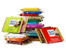 RITTER SPORT chocolate bars - seven (7) bars of your choice - made in germany
