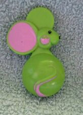 Avon Vintage 1970's Green Mouse Perfume/fragrance Child's Pin/Brooch