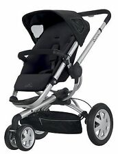 Quinny Buzz Rocking Black Standard Single Seat Stroller